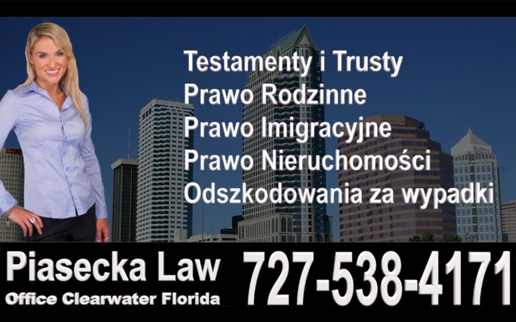 Tampa Bay, Floryda, Florida, Polish, Attorney, Lawyer, Polski, Prawnik, Adwokat, USA, Agnieszka Piasecka, Aga Piasecka, Piasecka