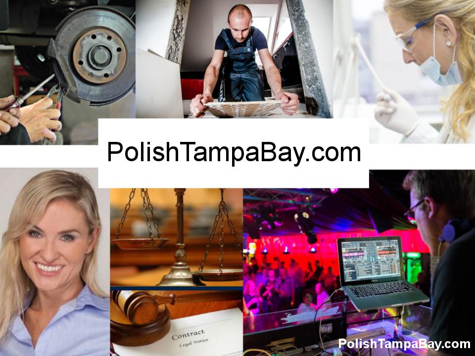 PolishTampaBay.com Największa Baza Polskich Biznesów w TampaBay